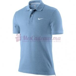Polo Ss Pique Bleu Ciel - Nike - Homme
