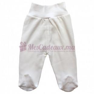 Pantalon blanc coton