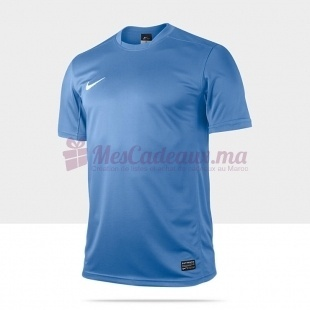 Tee-Shirt Bleu Ss Park V Jsy - Nike - Homme