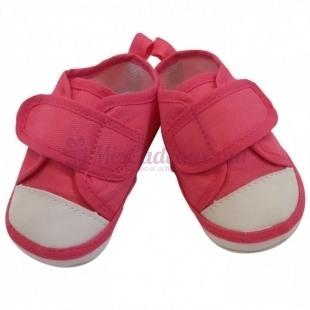 Chaussures tennis basique - Fushia