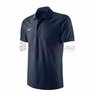 Ts Core Polo Noir -Football/Soccer - Homme