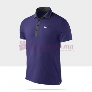Polo Violet Rf Masters - Nike - Homme