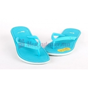 Tongs Bleues Solarsoft 2 - Nike - Femme