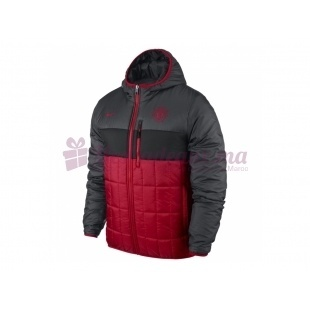 Veste rouge Manu Flip It Réversible - Nike - Homme