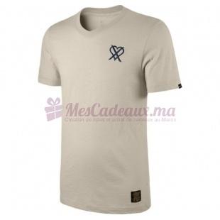 T Shirt Crème imprimé - Nike - Cr Tee