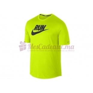 T-Shirt Run (Ch) - Nike - Homme