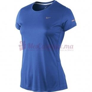 T-Shirt Miler Ss Crew Top - Nike - Femme