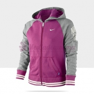 Sweat à capuche Campus Ft Fz Hoody(Yth) - Nike - Filles
