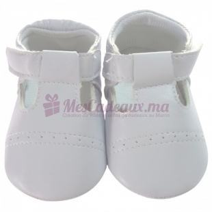 Chaussures avec frise