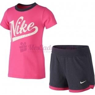 Ensemble Nike Knit Set (Ss + Short) - Nike - Femme