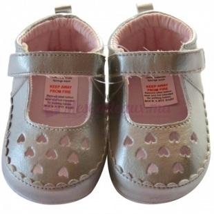 Chaussures argentés fille