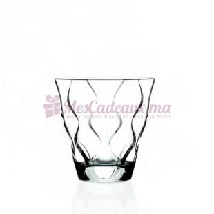 6 verres a eau riflessi couleur