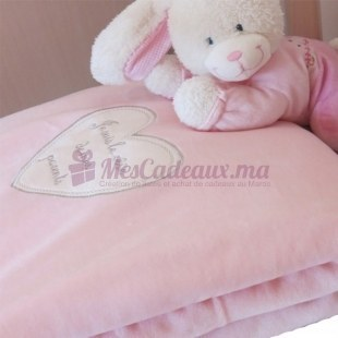 Couette bébé rose (114 x 84 cm)