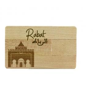 Clé USB carte Rabat