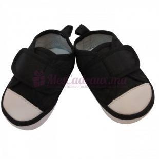 Chaussures tennis basique - Noir