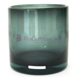 Vase Cylinder Smoke - Henry Dean - 15/15 cm