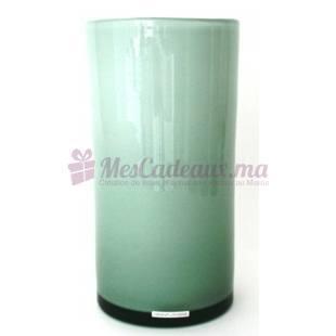 Vase Cylinder Lily White - Henry Dean
