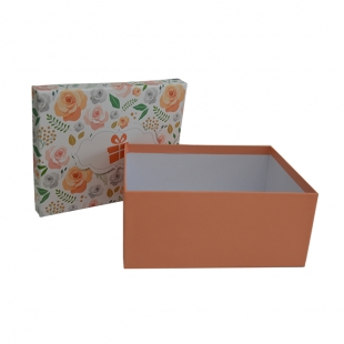 Boite cadeau Orange Flower