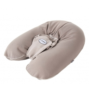 Coussin d'allaitement - Multirelax Taupe/Ficelle