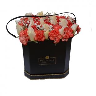 Seau de fleurs Elegance moyen