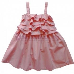 Robe rose-pastel cérémonie