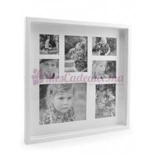 Cadre Photo Multi White - 7 photos