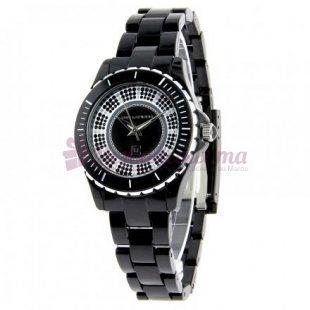 Montre - Ted Lapidus - Bracelet Plastique Noir A0501Snan