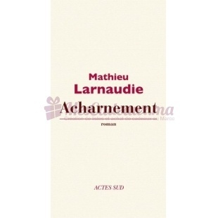 Acharnement - Mathieu Larnaudie - Actes Sud Editions