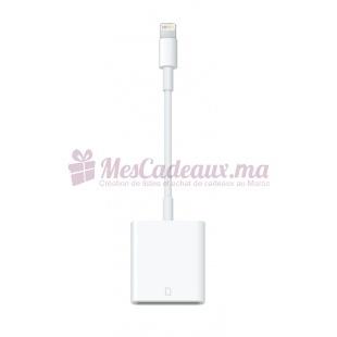 Adaptateur Lightning - Apple - Vers Lecteur De Carte Sd