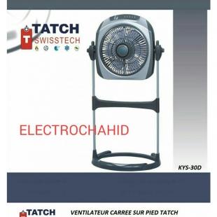 tatch swiss tech ventilateur carre sur pied. Black Bedroom Furniture Sets. Home Design Ideas