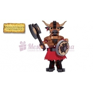 Minotaur 3D  (jeu de construction) - Blocotoys