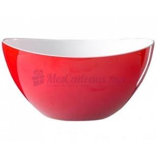 Bol a salade trendy salad bowl d. 26 cm. clr rouge