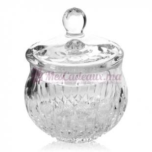 Bonbonnière yvan boule cristal