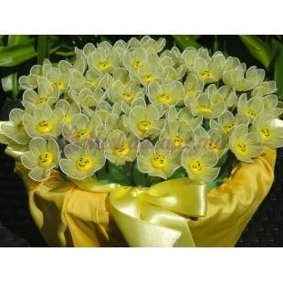 Bouquet bonbon Fleur de Tournesol