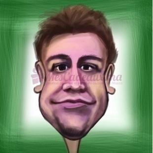 Caricatures Digitales pour une personne