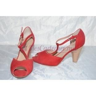 Chaussures italiennes peau retournée
