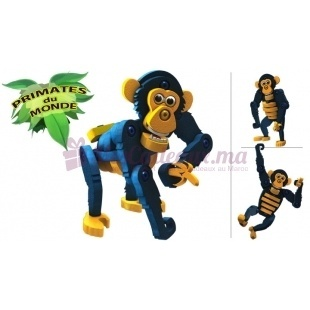 Chimpanzé  (jeu de construction) - Blocotoys