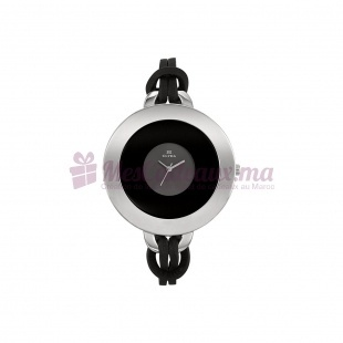 Montre - Clyda De Paris - Bracelet Cuir Noir Cla0327Rnnn