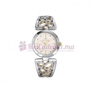 Montre - Clyda De Paris - Bracelet Métal Bicolore Cla0439Bbpw