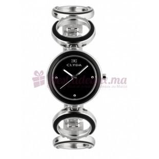Montre - Clyda De Paris - Bracelet acier Cla0507Nnpx