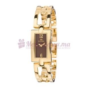 Montre - Clyda De Paris - Bracelet Doré Acier Cld0398Pmbx