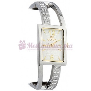 Montre - Clyda De Paris - Bracelet en Acier Inoxydable Cld0432Bbbw