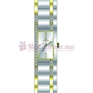 Montre - Clyda De Paris - Bracelet Doré Acier Cld0470Bbiw
