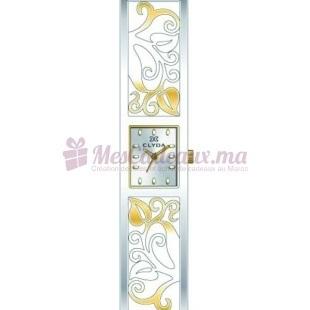 Montre - Clyda De Paris - Bracelet Doré Acier Cld0471Bbpw