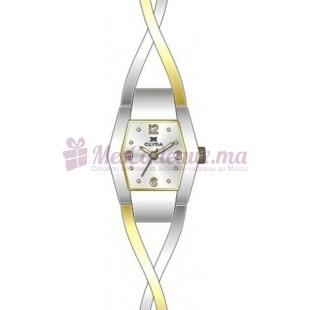 Montre - Clyda De Paris - Bracelet Argent Acier Clg0095Bbbw
