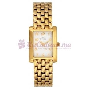 Montre - Clyda De Paris - Bracelet Doré Acier Clv0007Paax