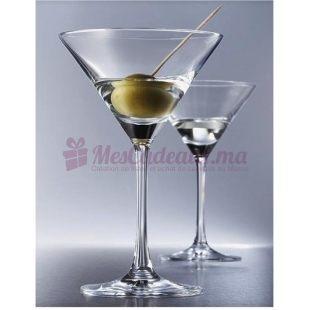 Coffret de 6 Verres à martini - Pure - Schott Zwiesell