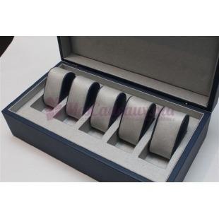 Coffret à montres bleu