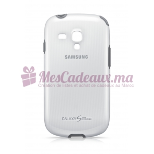 COQUE ORIGINE SAMSG GalaxyS3 MINI BLANC