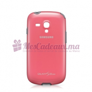 COQUE ORIGINE SAMSG GalaxyS3 MINI ROSE